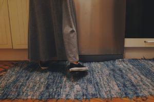 Laufspuren aus Teppich entfernen